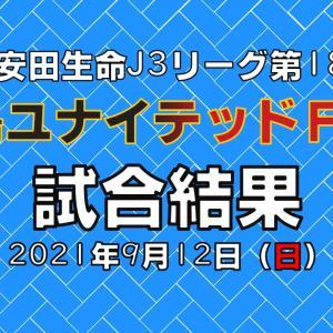 試合結果動画:第18節・福島ユナイテッドFC戦
