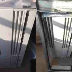 札幌市 西区 窓用エアコンの取り付け