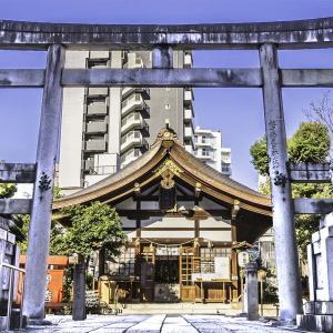 三輪神社(愛知県名古屋市) うさぎと花の癒し空間 写真紀行
