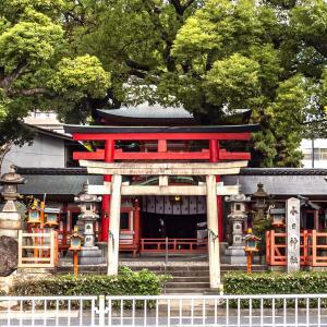春日神社 愛知県名古屋市中区 狛犬ならぬ狛鹿が守る神社