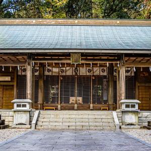 中川神社(岐阜県中津川市) 中津川の地名の由来という説もある由緒ある式内社