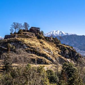 苗木城跡 近年は「岐阜のマチュピチュ」とも呼ばれる人気の山城