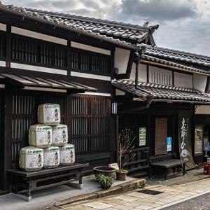 中津川宿 中山道45番目の宿場町