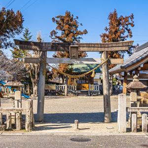 市神神社(恵那市 中山道 大井宿)