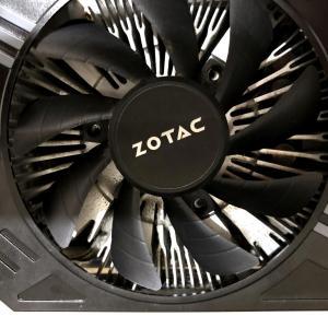 GeForce GTX 1060 6GBのGPUファンが壊れたので交換した【NVIDIA・ZOTAC・修理・DIY・グラフィックカード】