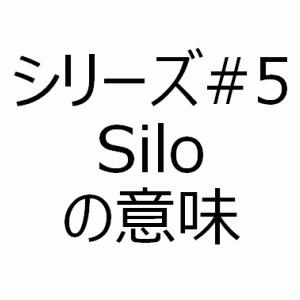 Siloの意味 - アメリカで学んだ生きたビジネス英語シリーズ#5