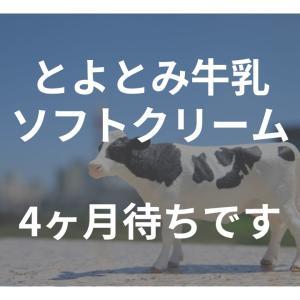 夏のひんやりは今から準備!とよとみ牛乳ソフト4ヶ月待ちです