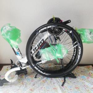 「あなたの自転車、折りたたみ式?」