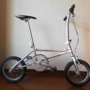 フォールディングバイク(折りたたみスポーツ車)の自己紹介