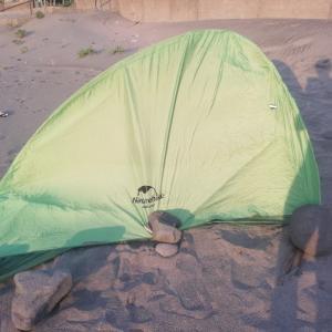 所有テントの欠点が判明