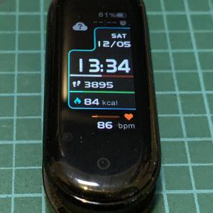 Mi Smart Band 5 に スクリーンプロテクター