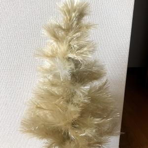 汚くなったクリスマスツリーがワンコインで復活