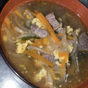 ゲコ家のカルビスープ<大体2人前> レシピ