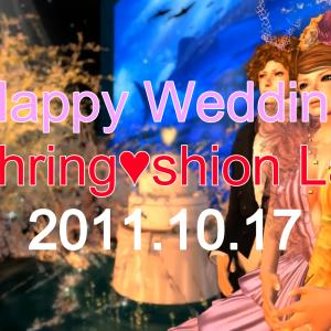 過去動画。Happy Wedding of My Best Friend