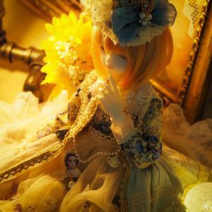 The お人形さんのドレス