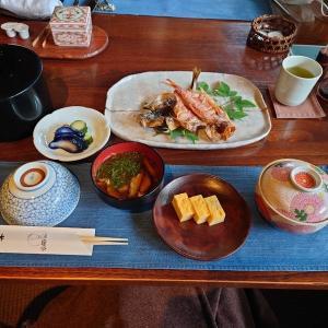 城ケ崎温泉 花吹雪⑤ 朝食・感想