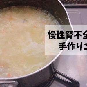 今日の手作りご飯(慢性腎不全 犬用)
