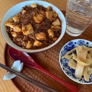 珍麻婆豆腐とどら焼き