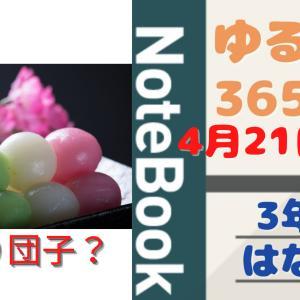 🌹花より団子🍡ブログ村ランク総合で1位だけど・・・ ゆるぐだ365日記#21 2021年4月21日