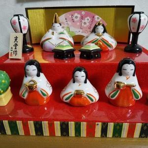 九谷焼のお雛様