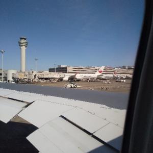 快晴なり、今日の羽田空港はフライト日和