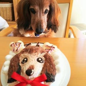 似顔絵ケーキの行方
