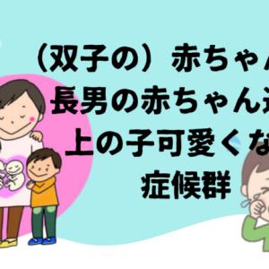 (双子の)赤ちゃんと僕|長男の赤ちゃん返りと上の子可愛くない症候群