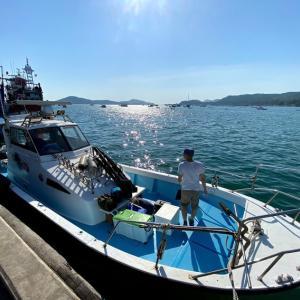 タイランド湾で船釣り!船上で1泊【夜釣り・朝間詰めを狙う】