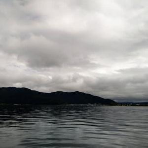 大雨去って〜河口湖 秋の陣