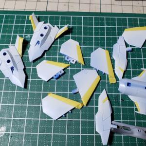 [製作]フレームアームズ・ガール スティレットXF-3 04「マスキング作業してます」