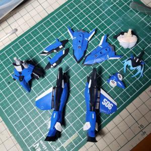 [製作]フレームアームズ・ガール スティレットXF-3 07「完成しました」