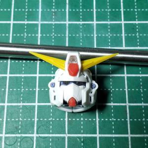 [製作]MG ガンダムF90 02「改修作業 顔を小顔に」