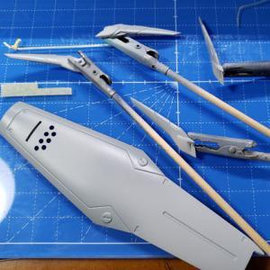 [製作]MODEROID AV-X0零式 04 「マスキングによる塗分け」