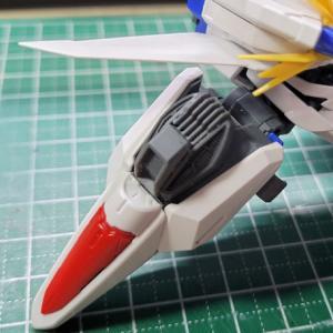 [製作]MG エクリプスガンダム 03 「肩アーマーのジョイント目隠しパーツ製作」