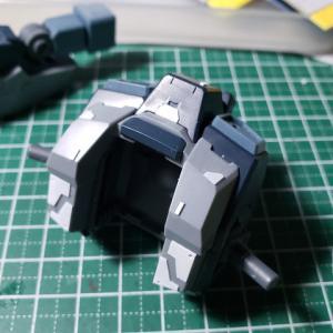 [製作]MG ジェスタキャノン 04「改修作業02 スジ彫り&プラ板でディテールアップ」