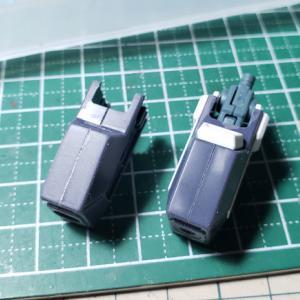 [製作]HG シルヴァ・バレト・サプレッサー製作03「改修作業 腕、胸部のディテールアップ」