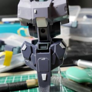 [製作]HG シルヴァ・バレト・サプレッサー製作04「改修作業 腰、足のディテールアップ」