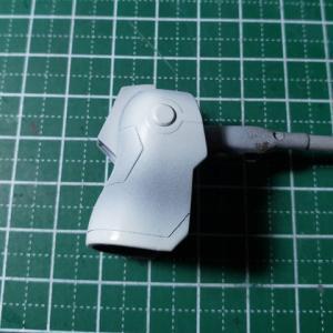 [製作]HG シルヴァ・バレト・サプレッサー製作07「塗分けマスキング、バーニア焼け塗装」