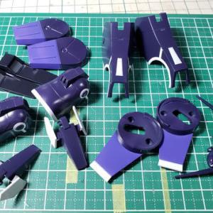 [製作]HG シルヴァ・バレト・サプレッサー製作08「塗装完了しました」