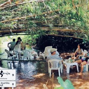 ⚫︎「バンプラヌアCafe」シラチャで川カフェする