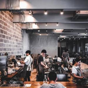 ⚫︎「Factory  Coffee」Barista Championの店でお茶をする