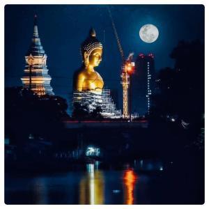 【Wat Paknam/パクナム寺】ダンマカーヤ瞑想法の大指導者