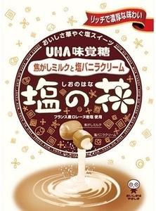 UHA味覚糖 塩の花 焦がしミルクと塩バニラクリーム