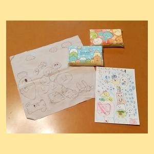 5歳次女 おばあちゃんに年賀状を書く🐄