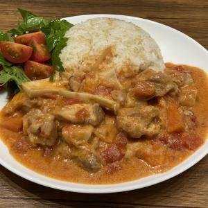 おうちごはん〜チキンと白菜のトマトシチュ〜