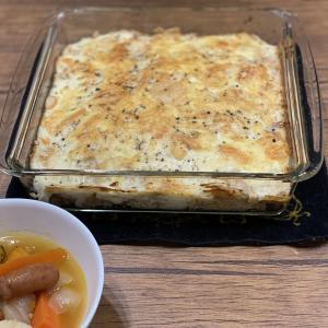 おうちごはん 〜野菜のブロード、ベジブロスを使ったポトフ&チキンドリア〜