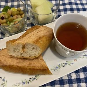 明太子フランスで朝ごはん⸜(* ॑꒳ ॑* )⸝⋆*