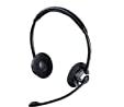 Bluetooth両耳ヘッドセット 400-BTSH016BK