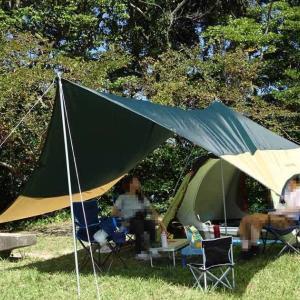 百合岳キャンプ場でデイキャンプ