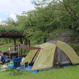 伊佐ノ浦公園で初デイキャンプ